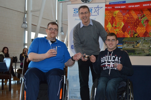 Wheelchair Curling 2014 winners