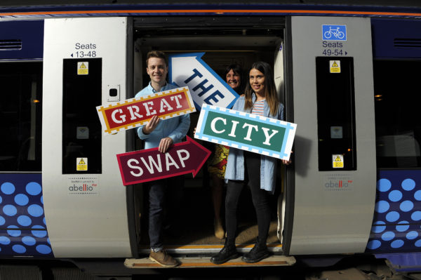 Scotrail Great City Swap.22/9/16Picture © Andy Buchanan 2016